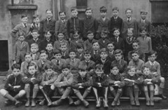 Synge Street School (theirhistory) Tags: school boys children group form class jacket shorts shoes wellies tie shirt blazer primary junior uk gb pupils students education