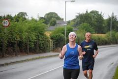 East of Ireland Marathon - Longwood - August 2014 (Peter Mooney) Tags: ireland rain marathon running endurance longwood eastofirelandmarathons