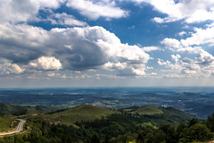 City View (gala H) Tags: road city sky skyline clouds view transalpina