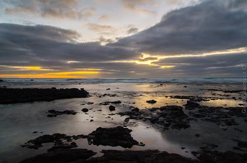 puesta de sol en Cotillo - Fuerteventura