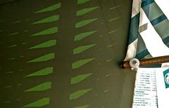 Sommerlich (web.werkraum) Tags: detail green stillleben ks ausflug grn ostsee muster usedom mecklenburgvorpommern 2014 grnweiss sommerlich sonnenmuster komposition8