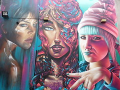 Adnate, Sofles & Smug...'Northland', Melbourne... (colourourcity) Tags: streetart graffiti awesome melbourne smug dts awol sofles adnate smugone burncity soflesone colourourcity cheriebuttonss sofles1