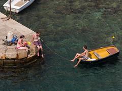 (ballesdavid) Tags: friends sea amigos muelle boat mar dock barca dubrovnik croacia omd omdem5