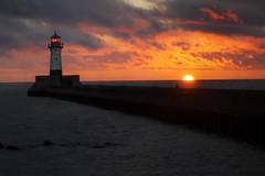 Waited In The Darkness (karenhunnicutt) Tags: summer lighthouse sunrise darkness northshore duluth lakesuperior duluthharbor duluthminnesota minneapolisphotographer artandsoulphotography karenmeyere karenhunnicutt karenmeyer minnesotatourism karenhunnicuttphotographycom minneapolisfineart