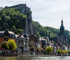 AH133783 (Alan Holden) Tags: church river europe belgium citadel notre dame dinant meuse wallonia