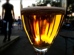 Sunset & Beer (Xevi V) Tags: sunset apple beer sweden suecia iphone sigtuna sucia iphone5 sunsetbeer