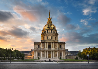 Eglise du dôme des invalide Paris France