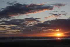Pembrey Beach sunsets (zombikombi1959) Tags: camping sunset southwales wales clouds cycling skies camper cloudporn pembrey pembreycountrypark pembreybeach