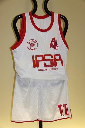 IPSA Collegno Basket Completo Bianco