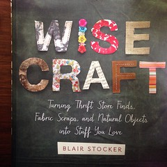 Had the pleasure of talking with Blair at wisecrafthandmade.com about her book! So #inspired over projects like leather rock paperweights and pegboard Christmas trees. #maderemade #wisecraft