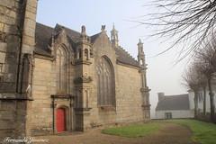 Los Calvarios 03 (alanchanflor) Tags: color canon iglesia normandía francia niebla