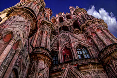 Parish Church San Miguel Arcangel De Allende Mexico (havana_high16) Tags: church parish miguel architecture photoshop de mexico la san vibrant worldheritagesite sanmigueldeallende nik sanmiguel multicolored hdr topaz arcangel parroquia allende colonialstyle arcngel topazlabs niksoftware mexicophotography