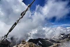 14. August, Eiszapfen am Petzeck (3283m)