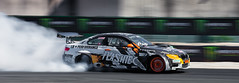 https://www.twin-loc.fr Championnat Europ�en de DRIFT - Bordeaux M�rignac Gironde 13 et 14 septembre 2014 - BMW M3 - Moteur Engine Puissance Power Car Speed Vitesse - Picture Image Photography - King of Europe KOE turbo oil huile frein brake transmissi