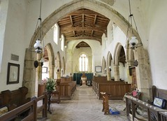ST HELEN'S, SKEFFLING, HOLDERNESS, E YORKSHIRE_RAP8357 XRHC T (Roger Perriss) Tags: church lamps pews chancel oillamps sthelenschurch holderness d600 skeffling eyorkshire roofchurch