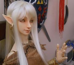 Opalite Cabochons for Eyes (pandork) Tags: mask fierce link zelda bjd hybrid legend deity weylin 60cm majoras bobobie resinsoul