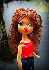 Clawdeen Fakie (Sarah Darwin) Tags: werewolf doll clone fakie clawdeen monsterhigh