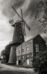 Moulton Windmill by Andy.Harper - Moulton windmill in Lincolnshire is the tallest windmill in the UK at 100ft tall. It is a grade 1 listed building and has been fully restored with new sails and is now in full working order.