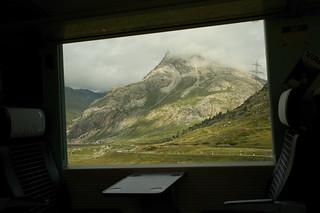 first class view @ Rhaetien Railway