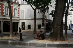 Little square (rj.putter) Tags: paris france olympuspen ruedefurstenberg panasonic20mm17