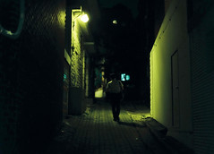 ... (june1777) Tags: street light mamiya night 645 kodak tl snap seoul pro expired portra 800 mamiya645 80mm f19 seochon sekor hyojadong