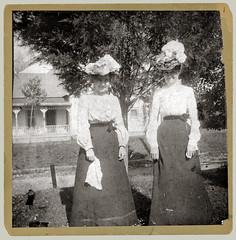 Two Women (anyjazz65) Tags: pair enhanced foundphotograph ajo65 bloglghats20140918 bloglgenhance20141009 bloglg2women