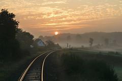 P1740650 (Lumixfan68) Tags: sunrise sonnenaufgang morgennebel morgenstimmung tarup