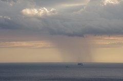 pioggia-it is raining (Gabriele Flauti) Tags: sunset rain raining shining ercolano