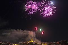 Artificios de colores (2) (Carme MV Photography) Tags: canon eos noche feria luna nocturna 1855mm fuegosartificiales 600d zalamealareal septiembre2014