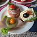 Schnittchen als Mittagsimbiss bei einer Tagung in Paderborn