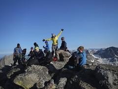 The Team on Mount Hooker