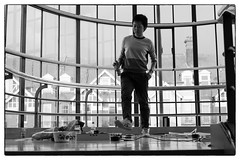 Rie Nakajima - Dear Serge/Cafe Oto @ De La Warr Pavilion, Bexhill-on-sea, 14th September 2014 (fabiolug) Tags: leica windows blackandwhite bw music window monochrome stairs zeiss 50mm blackwhite concert experimental live gig livemusic performance objects rangefinder staircase installation sound foundobjects monochrom eastsussex biancoenero performances devices avantgarde installations sonnar bexhill bexhillonsea delawarrpavilion leicam zeisssonnar 50mmf15 sonnar50mm cafeoto zeisscsonnar zeisszm50mmf15csonnar dearserge mmonochrom leicammonochrom leicamonochrom zeisscsonnartf1550mmzm rienakajima massedautomata