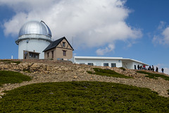 T250 at OAJ Observatorio Astronomical de Javalambre (beckstei) Tags: blue sky de spain telescope dome astronomy vulture teruel astronomical arcos buitre observatorio on javalambre t250 oaj picodelbuitre cefca