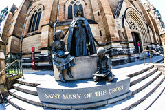 BS4R4007 (Damir Govorcin Photography) Tags: st statue canon lens photography catholic cathedral mary sydney fisheye marys relegion mackillop