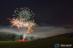 Cary, IL Fireworks (topmedic) Tags: birthday park longexposure chicago colors america illinois nikon northwest fireworks celebration suburb recreation openspace explosions 4thofjuly july4 camille claudine nightexposure timing 2015 d7000 tokina1114 acefireworksshooter