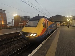 EMT CLASS 43 at Newcastle (Uktransportvideos82) Tags: bls hst class43 emt