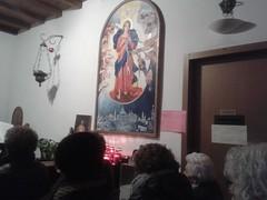 """17.01.28 Pellegrinaggio il 28 del mese alla Chiesa della Madonna che scioglie i nodi di Lainate Via Pagliera ang Via Marche h 21 S (1) • <a style=""""font-size:0.8em;"""" href=""""http://www.flickr.com/photos/82334474@N06/32722199713/"""" target=""""_blank"""">View on Flickr</a>"""