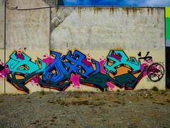 The Alien Brand (Steve Taylor (Photography)) Tags: art graffiti mural streetart tag wall concrete newzealand nz southisland canterbury christchurch cbd city