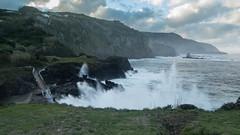 Bad Sea Conditions at Santa Cruz das Flores (Yomikaori) Tags: flores santa cruz das porto são pedro mau tempo bad sea conditions mar revolto