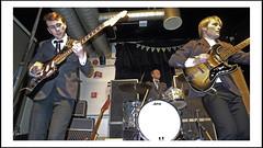 Perry Dear & The Deerstalkers (8) (frode skjold) Tags: perrydearthedeerstalkers perøydir bjarteagdestein bernterikandreassen magnusforseth mir toftesgate oslo norge norway grünerløkka beat 60´s theindikation peterberrytheshakeset leicadlux5 blackwhite bw monochrome music musicians concert gig stage band group fendervibass burns burnsoflondon vox ludwigdrums