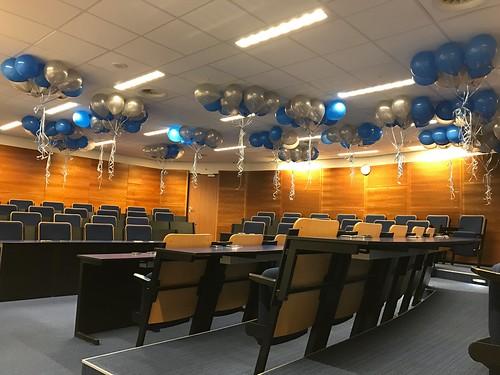Heliumballonnen Erasmus Universiteit Rotterdam