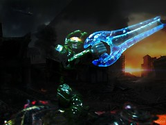 Master Chief (THE AMAZING KIKEMAN) Tags: master chief halo bungie 343 microsoft studios mega blocks john spartan 117 xbox