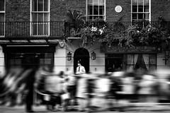 """Sherlock Holmes Madness"" (helmet13) Tags: d800e raw bw people unitedkingdom london sherlockholmes sherlockholmesmuseum sightseeing privatedetective scotlandyard police sirarthurconandoyle constable tourists rush drwatson 221bbakerstreet motionblur aoi heartaward peaceaward"