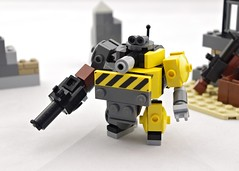 """Tubby"" Officer (Deltassius) Tags: mobile frame zero lego space war military mech mecha robot scifi twank"