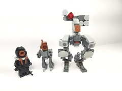 DrOnES (lord_nick1227) Tags: drone military lego mech future scifi
