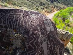 Petroglyphs In Situ (xjblue) Tags: 2017 mtb stgeorge area desert race rampage redrock rockart trip petroglyph southernutah volcanic rock
