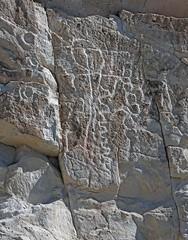 Petroglyphs / Emigrant Spring Site (Ron Wolf) Tags: anthropology archaeology deathvalleynationalpark emigrantcanyon nationalpark nativeamerican abstract circle circlechain meanderingline panel petroglyph rockart wavyline california