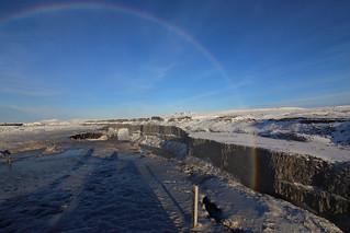 Dettifoss rainbow