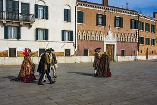 Venezia , il carnevale ... senza tempo ...