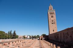 Koutoubia Mosque (San on Lion Rock) Tags: morocco travel cycling 踩單車 旅行 摩洛哥 marrakesh 馬拉喀什 koutoubia mosque